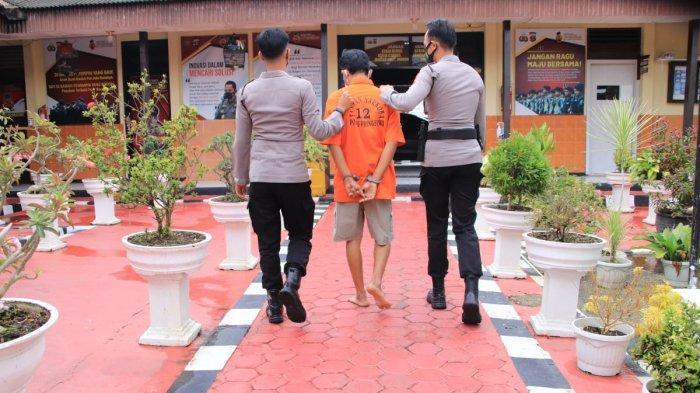 Oknum Kadus di Pringsewu Lampung Terciduk Sedang Pesta Sabu
