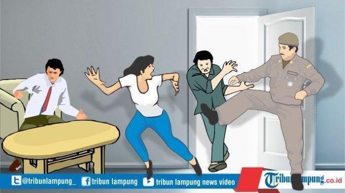 Suami Tak di Rumah, Istri Ajak Berondong Menginap hingga Didatangi Warga