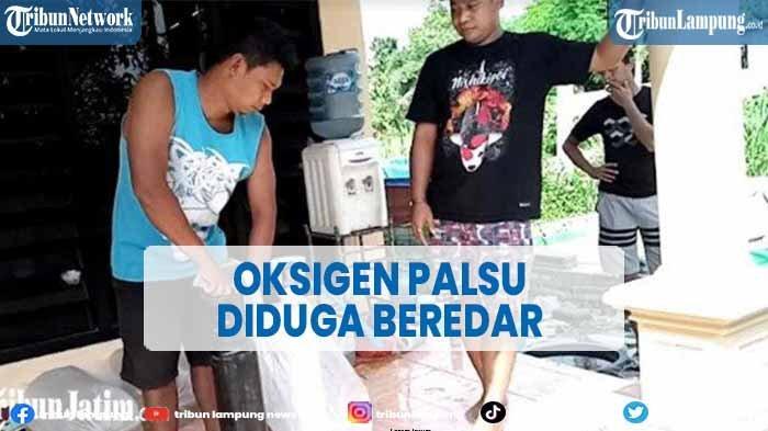 Oksigen Palsu Diduga Beredar, Polisi Sebut 2 Distributor