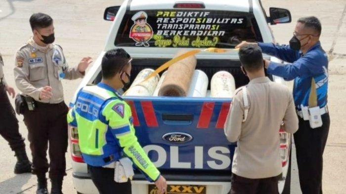 PT Pusri Sumbang 9.745 Kilogram Oksigen untuk Warga Lampung