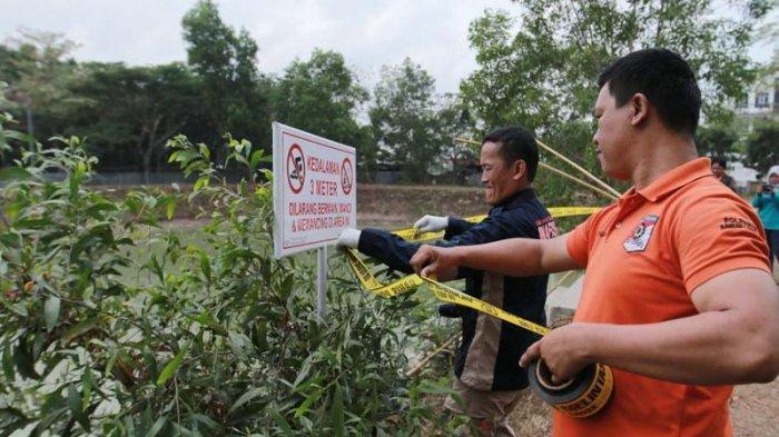 BREAKING NEWS - Tim Inafis Polresta Bandar Lampung Olah TKP Tewasnya Mahasiswa di UIN Lampung