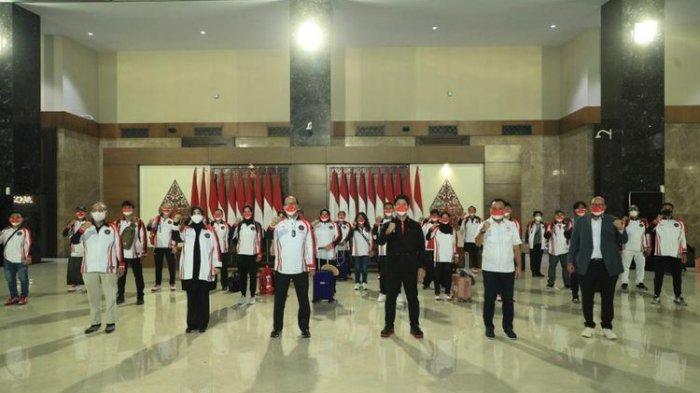 Olimpiade Tokyo 2020, Kontingen Indonesia Lepas Rombongan Atlet Kloter Kedua