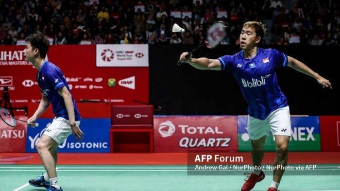 Olimpiade Tokyo 2020, Pengalaman Pertama Marcus Fernaldi Gideon Tinggal di Kampung Atlet