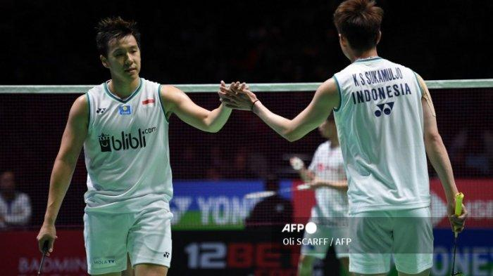 Olimpiade Tokyo 2020, Tim Bulutangkis Indonesia Tetap Jalani Latihan di Ruang Karantina