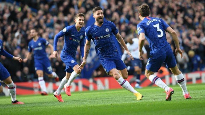 Hasil Liga Inggris - Chelsea vs Tottenham Hotspur, The Blues Menang 2-1
