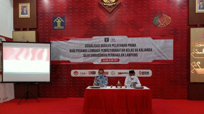 Kepala Ombudsman Lampung ke Lapas Kalianda: Budaya Pelayanan Prima tanpa Diskriminasi