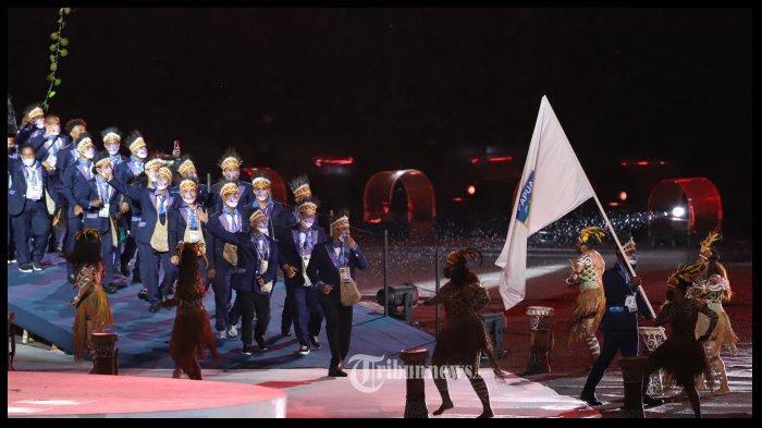 Opening Ceremony PON XX Papua 2021 Tadi Malam, Pesta Kembang Api dan Penampilan Artis