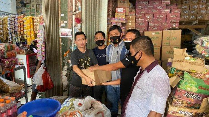 Operasi Cempaka Krakatau 2021, Polisi Sita Puluhan Miras di Pasar Simpang Pematang Mesuji