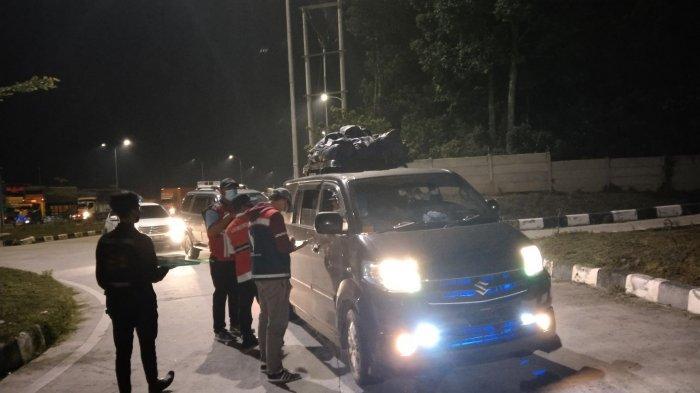 PPKM Darurat Diperpanjang, Penyekatan di Tol Lampung Berlanjut