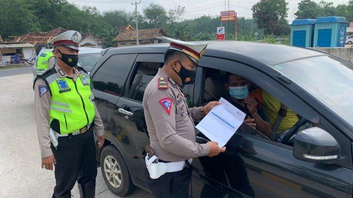 Operasi Patuh Krakatau 2021 di Mesuji Lampung, Amankan Gereja hingga Penyekatan di Exit Tol