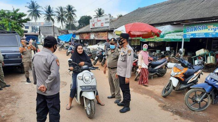 Satgas Pencegahan Covid Punggur Lamteng Imbau Warga Kedepankan Prokes