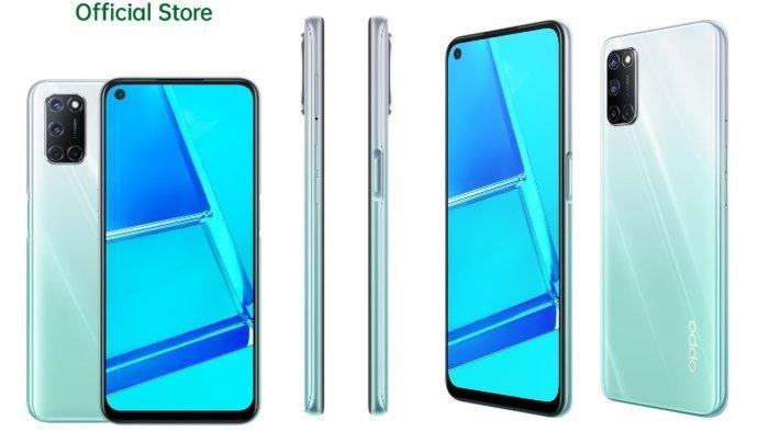 Ilustrasi. HP Oppo A52 Terbaru