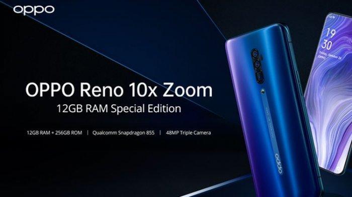 Harga HP Oppo Reno 10x Zoom Terbaru 2021 dan Spesifikasi HP Oppo Reno 10x Zoom