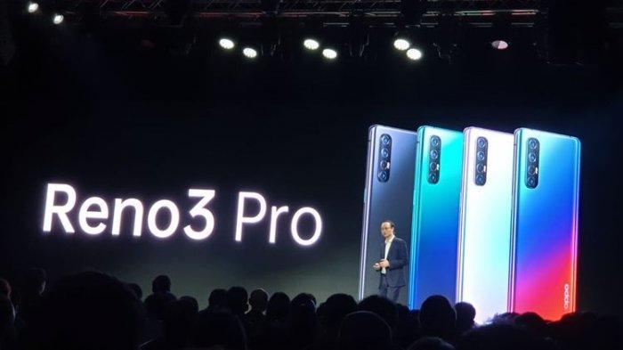 Ilustrasi. Tampilan HP Oppo Reno3 Pro dalam acara Oppo Inno Day 2019 di Shenzen, Tiongkok