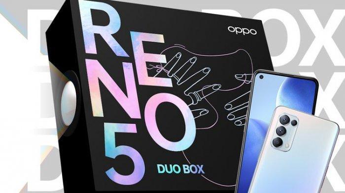 Harga HP Oppo Reno5, Dijual Sepasang Satu Kotak Edisi Khusus