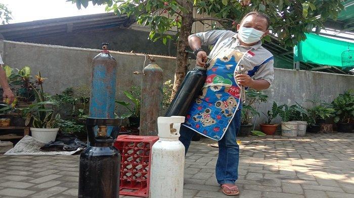 Organisasi DDS di Pringsewu Lampung Beri Layanan Isi Oksigen Sukarela