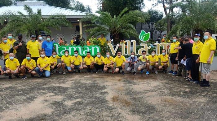 P3VC Resmikan Taman Villa Emas Kompleks Villa Citra Bandar Lampung