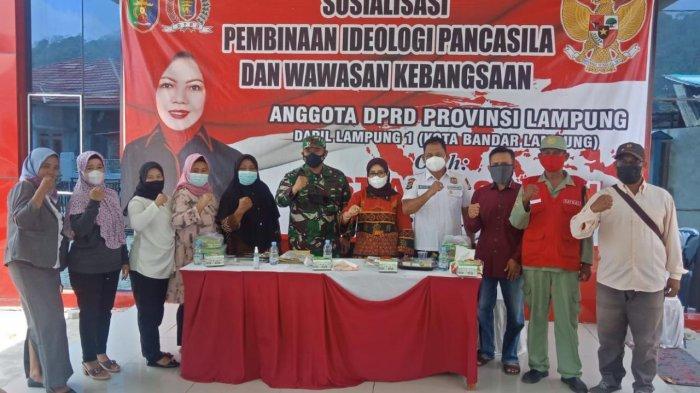 Mayor Kav Perri Pujarama Beri Materi Ideologi Pancasila dan Wawasan Kebangsaan di Kelurahan Ketapang