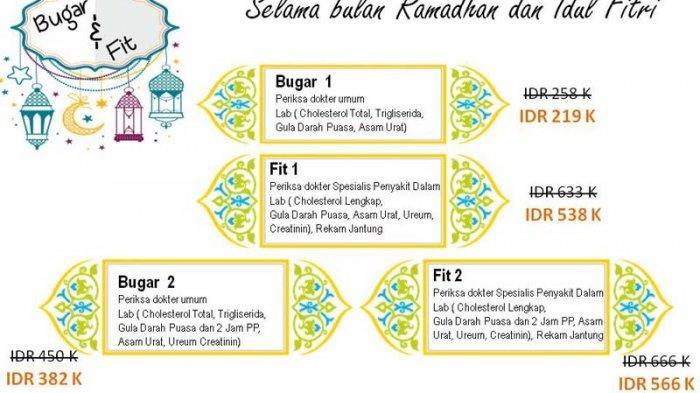 RS Imanuel Tawarkan Paket Bugar dan Fit Selama Ramadhan dan Idul Fitri