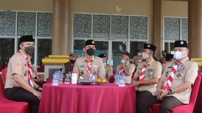 Kolonel Inf Romas Herlandes Hadiri Acara Pembukaan Perkemahan Pramuka Saka Wira Kartika