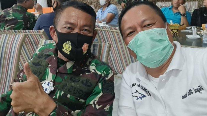 Pangdam Sriwijaya dan Kapolda Lampung serta Rombongan Tinjau Pulau Tegal Mas