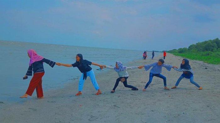 Menilik Keindahan Pantai Cemara Lampung Timur