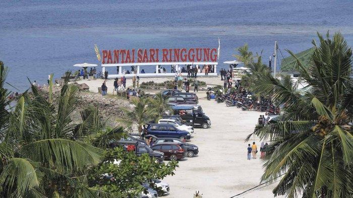 Camat Teluk Pandan Pesawaran Minta Bongkar Bangunan di Pasir Timbul Sari Ringgung