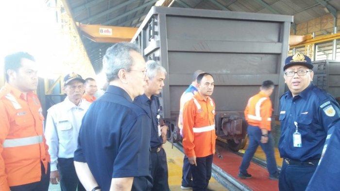 Dewan Komisaris PT KAI Pantau Lintasan Kereta Api Tanjungkarang-Tanjung Rambang