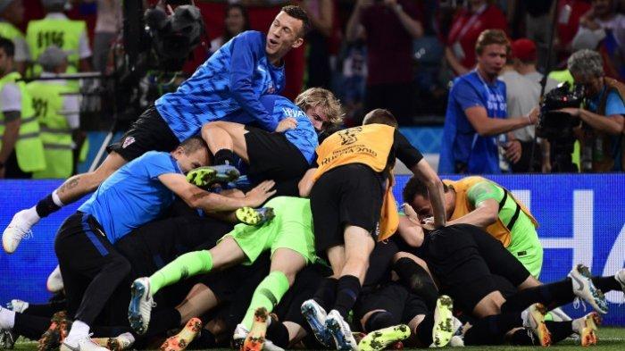 Live Streaming Final Piala Dunia Prancis Vs Kroasia, Road to Final Kroasia yang Berliku