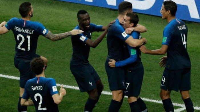 Kalahkan Kroasia, Prancis Juara Piala Dunia 2018