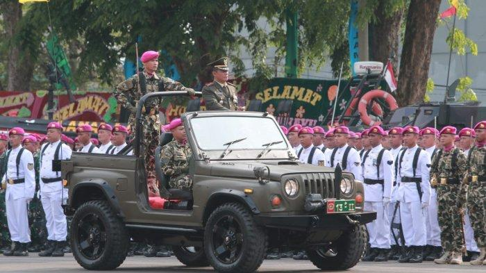 Harapan Danrem 043/Gatam di HUT ke 74 TNI: Tetap Jadi Kebanggaan Rakyat
