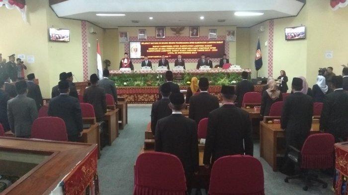 Edi Novial Ketua Definitif DPRD Lampung Barat