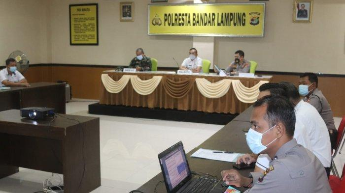 Mayor Inf Djafar Hadiri Rakor Lintas Sektoral di Polresta Bandar Lampung