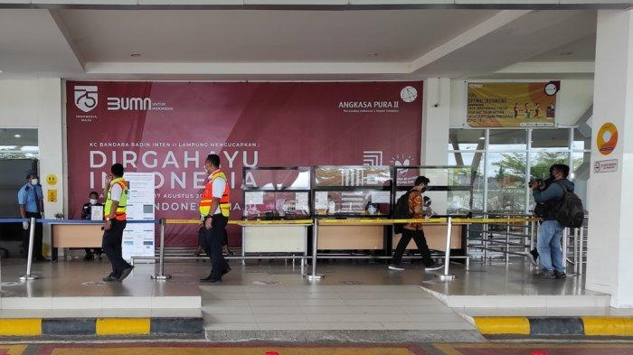 Pasca Baku Tembak di Mabes Polri, Bandara Radin Inten II Dijaga Ketat
