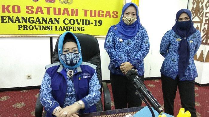 Angka Kesembuhan Covid-19 di Lampung 73 Persen, Reihana: Jangan Lupa Bahagia