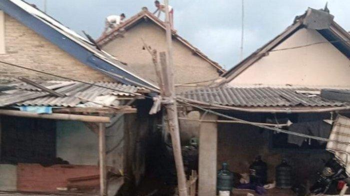 Pasir Sakti Lampung Timur Diterpa Puting Beliung, 11 Rumah Rusak