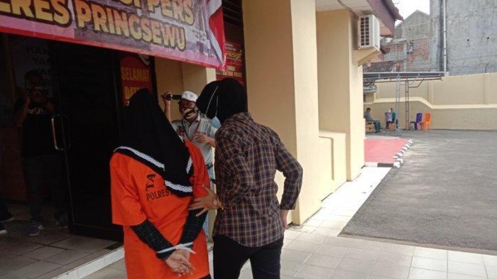 Pasutri Juragan Cilor yang Konsumsi Sabu di Pringsewu Terancam 4 Tahun Penjara