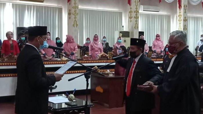 PAW Anggota DPRD Metro, Adi Prasetyo Resmi Gantikan Anna Morinda