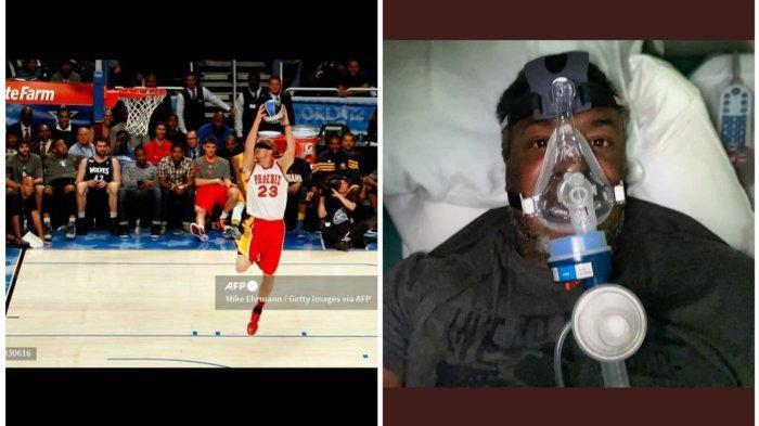 Legenda NBA, Cedric Ceballos Masuk ICU karena Covid-19