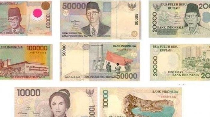 BI Tarik 20 Uang Pecahan Rupiah Era 1970-1990