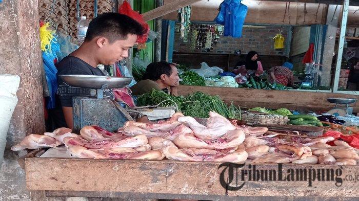 Harga Daging Ayam di Mesuji Lampung Turun, Hanya Rp 28 Ribu