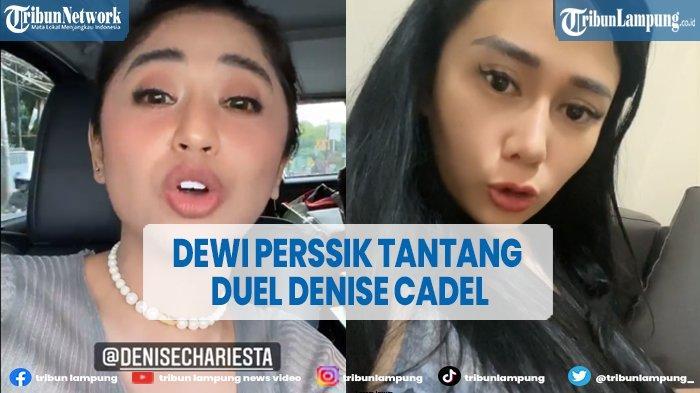 Disebut Bogel, Dewi Perssik Tantang Denise Chariesta Duel