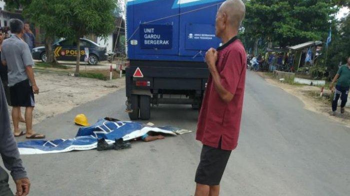 Pegawai Rekanan PLN Tewas Terlindas Truk di Tulangbawang Barat