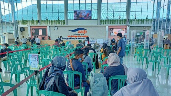 Selama PPKM Darurat, Penumpang dari Merak ke Bakauheni Lampung Menurun