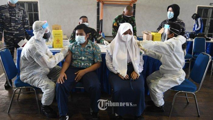 548 Ribu Anak Sudah Disuntik Vaksin Covid-19, Targetnya 11,9 Juta