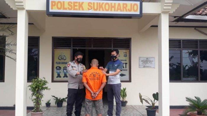 Pelarian Rajianto Selama 11 Bulan Berakhir, Dirinya Diamankan Tim Buser Polsek Sukoharjo Lampung