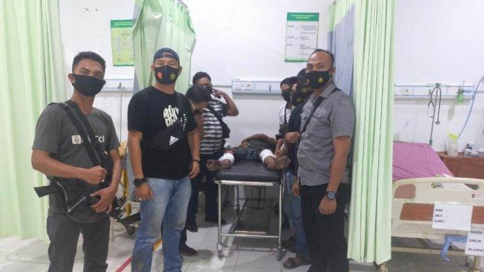 Serang Polisi Pakai Parang, Pelaku Curanmor asal Tubaba Ditembak di OKI