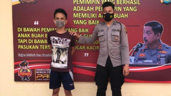 Polisi Beri Hadiah Timah Panas Pelaku Curanmor di Pringsewu