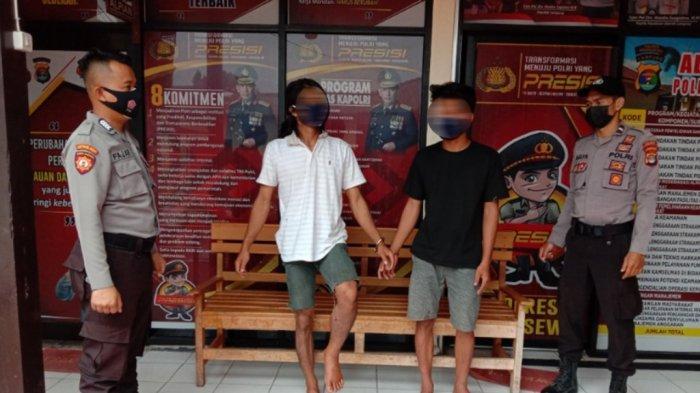 Polres Pringsewu Lampung Amankan Pelaku Curanmor, Dua Tersangka Bagi Hasil Penjualan Motor Curian