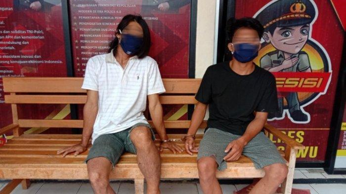 Tekab 308 Polres Pringsewu Lampung Amankan Dua Pelaku Curanmor, Satu Seorang Residivis
